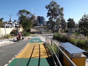 Photo: Zum Glück gibt es ein paar Radwege in Brisbane...