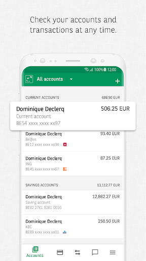 Carte Bancaire Fortis.Easy Banking App By Bnp Paribas Fortis Google Play United States