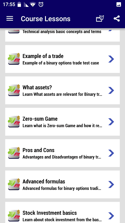 Option trading video course