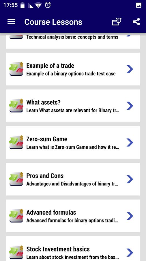 Binary option course