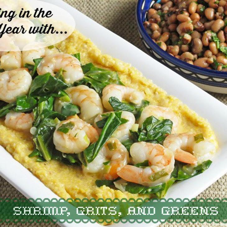 Shrimp, Grits & Greens