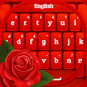 Red Rose Keyboard 2020 icon