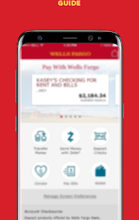 Guide For Wells Fargo Mobile Hints Screenshot
