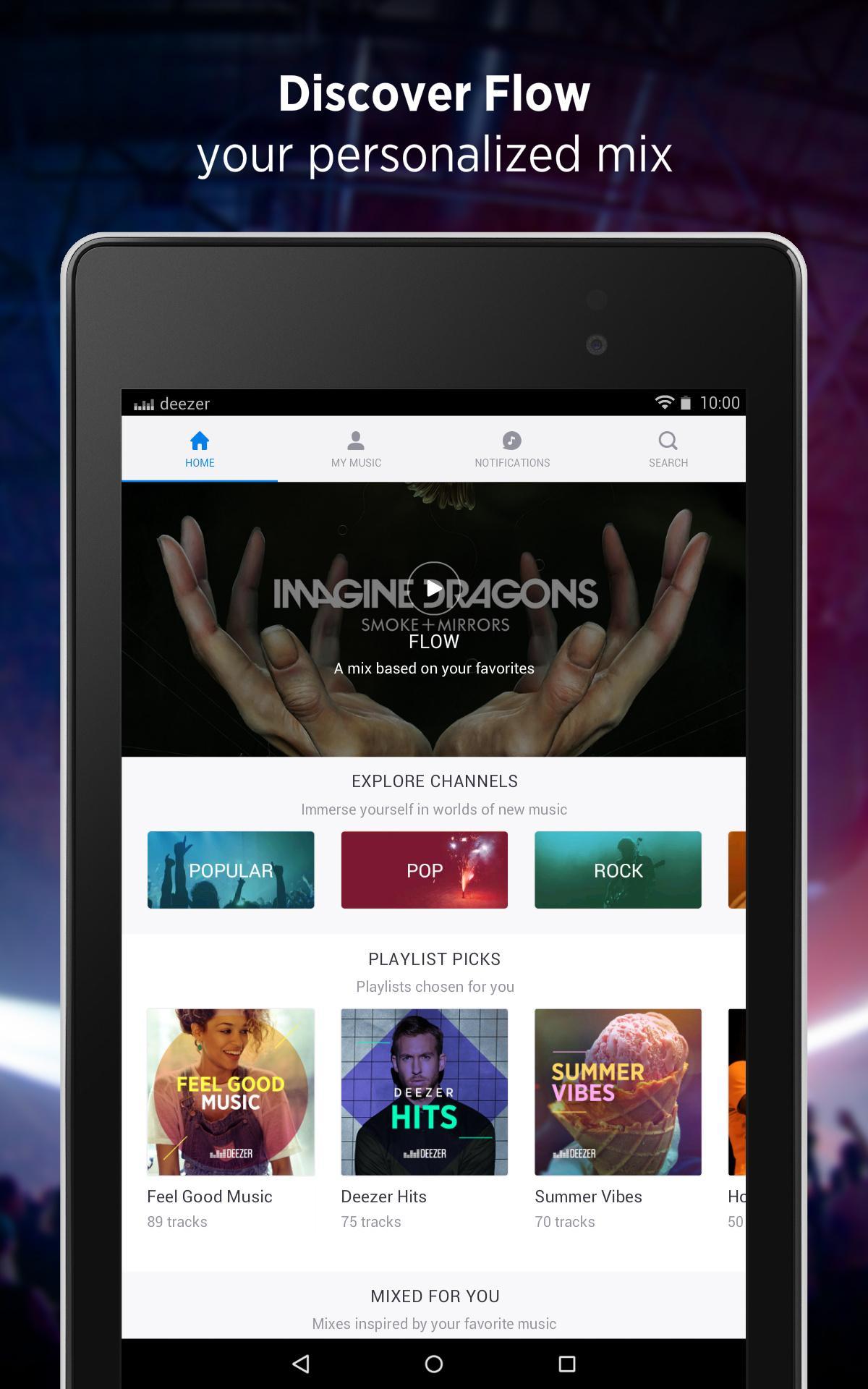 Deezer - Songs & Music Player screenshot #12