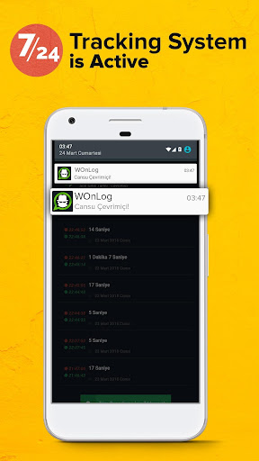 wOnLog screenshot 2