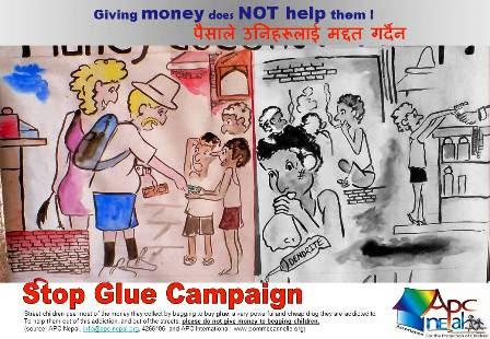 Stop Glue Campain