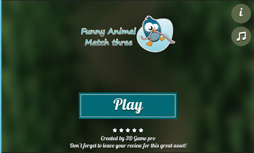 Funny animal match three