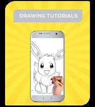 How To Draw Pokemon Characters - screenshot thumbnail 03