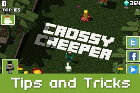 Guide Crossy Creeper Halloween