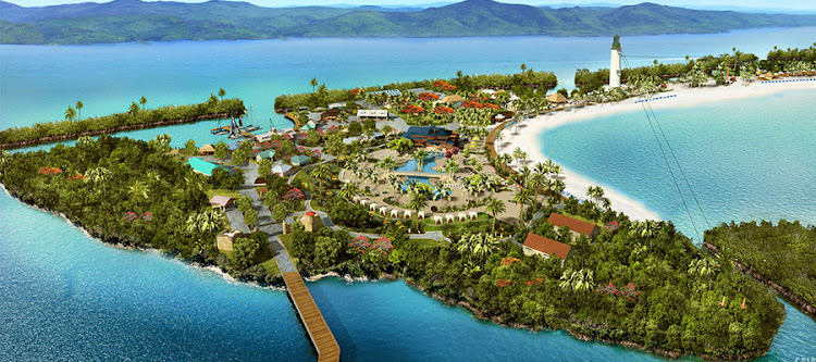 Harvest Caye is the $100 million private island development in Belize.