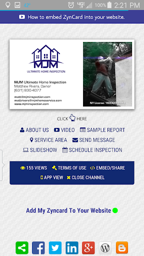 Mjm Business Card