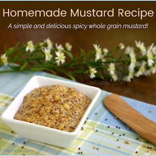 Homemade Mustard Recipe (Whole Grain) Recipe