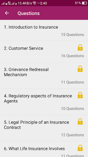 IC38EXAM : Life, General, Health Mock Tests 1.4.1 screenshots 5