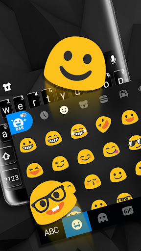 Pure Black Keyboard Theme ss3