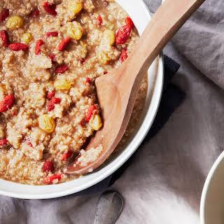 Hot Oat & Quinoa Cereal.