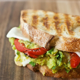 Smashed Chickpea and Avocado Panini