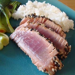 Seared Sesame-Coated Tuna.