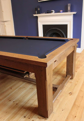 Custom Pool table with Refectory stretcher bars