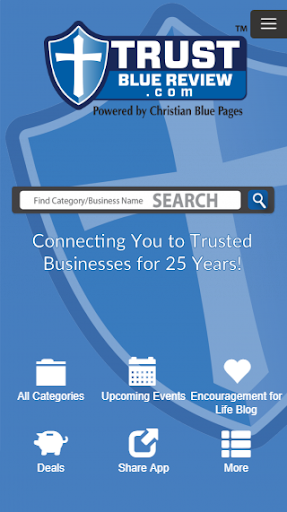 Screenshot for Trust Blue Review in United States Play Store