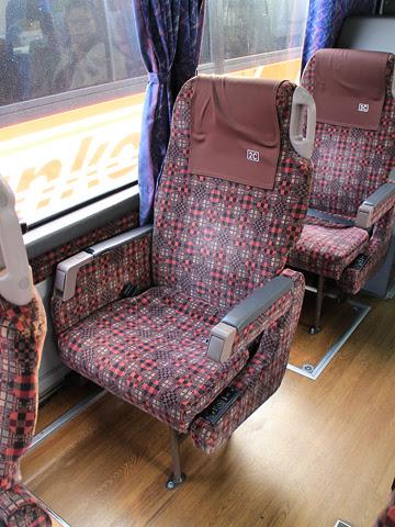 九州産交バス「ぎんなん号」 3157 シート