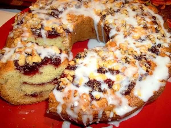 ~ Cranberry Celebration Cake ~ Cassie Recipe