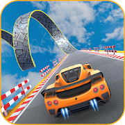 Impossible Rocket Car : Ramp Car Extreme Stunts