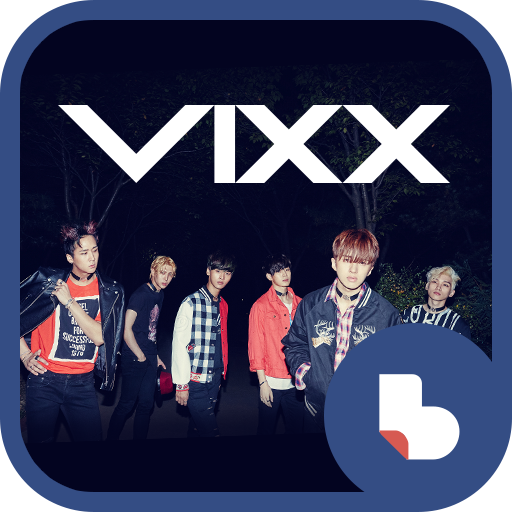 VIXX Chained up 버즈런처 테마(홈팩)