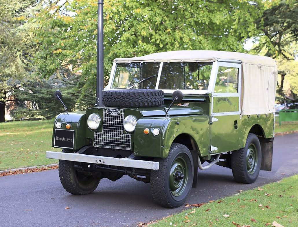 Land Rover Series 1 Hire Weybridge