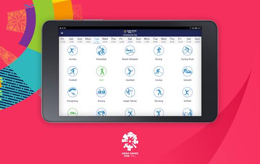 18th Asian Games 2018 Official App 1.0.2 screenshots 11