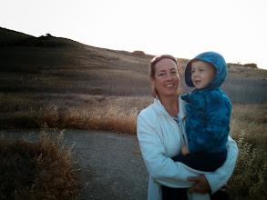 Photo: Eva and Finn Hiking