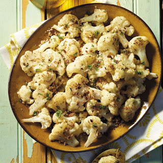 Cauliflower With Herby Crumb Topping