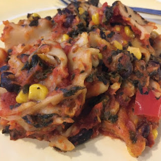 Slow Cooker Pumpkin Vegetarian Lasagna