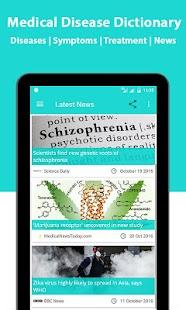 Medical Disease Dictionary screenshot