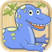 Paint and color dinosaurs game