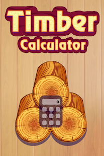 Timber Calculator - náhled