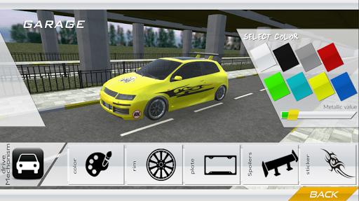 Stilo Car Simulation Race - Drift - City  screenshots 4