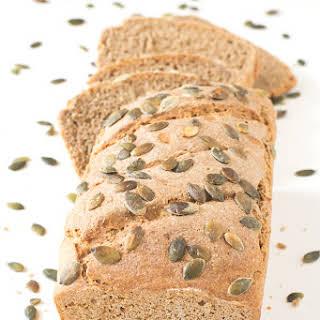 Easy Rye and Spelt Bread.
