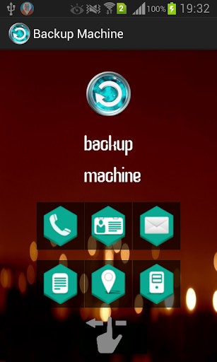 Backup Machine