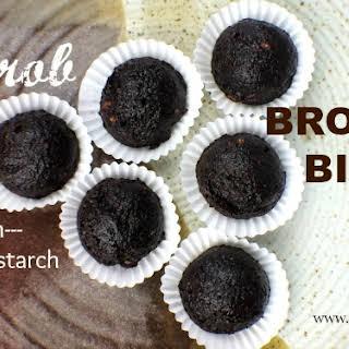 Carob Brownie Bites.