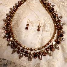 Photo: # 223 FW pearls, 14K gold vermeil