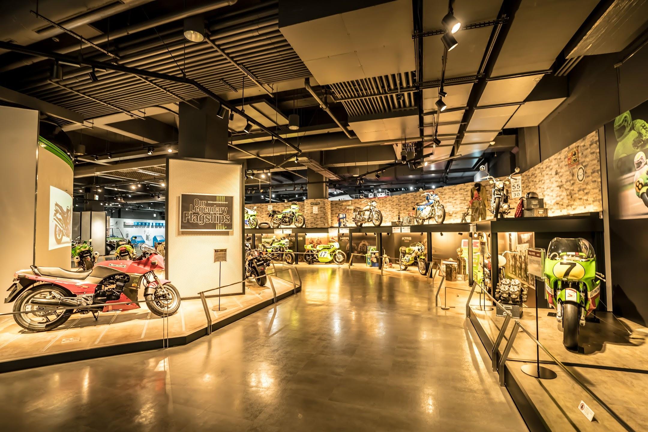 神戸 メリケンパーク カワサキワールド オートバイ3