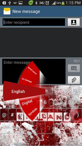 免費下載個人化APP 英格兰足球GO键盘 app開箱文 APP開箱王