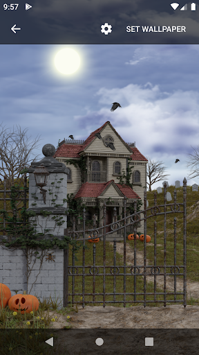 Scary House Live Wallpaper screenshot 1