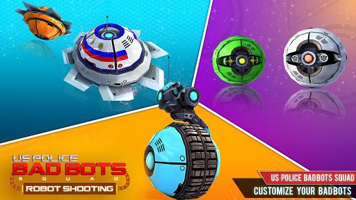 US Police Robot Squad u2013 Future Robot Shooting Game 2.0.1 screenshots 3