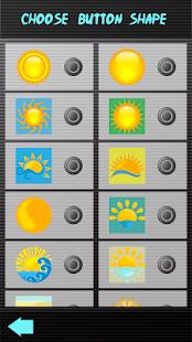 Sunrise klávesnice - náhled