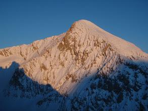Photo: Alpspitze im ersten Sonnenlicht