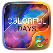 Colorful DaysGO Launcher Theme
