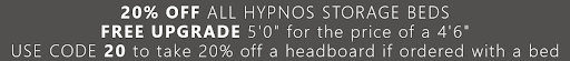Hypnos Ottoman Beds promotion