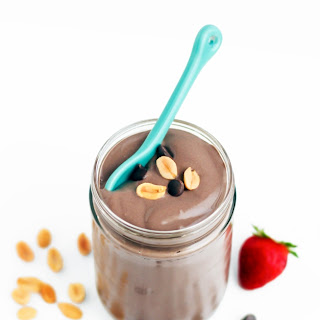 Healthy Chocolate Peanut Butter Mousse (sugar free, low carb, high protein, gluten free, vegan)