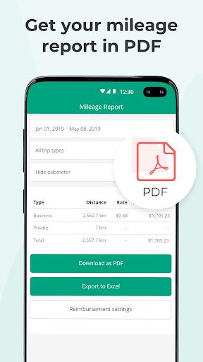 Vehicle Log Book & KM Tracker by Driversnote screenshot